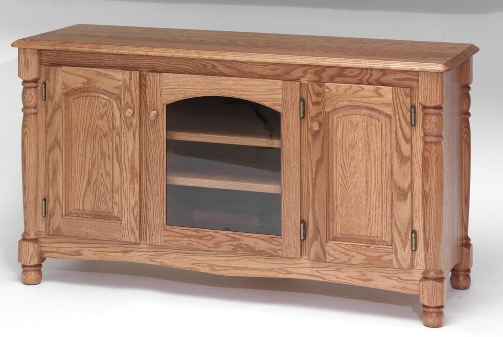 Magnificent Famous Hardwood TV Stands Regarding Country Trend Solid Wood Oak Tv Stand 51 The Oak Furniture Shop (Image 37 of 50)