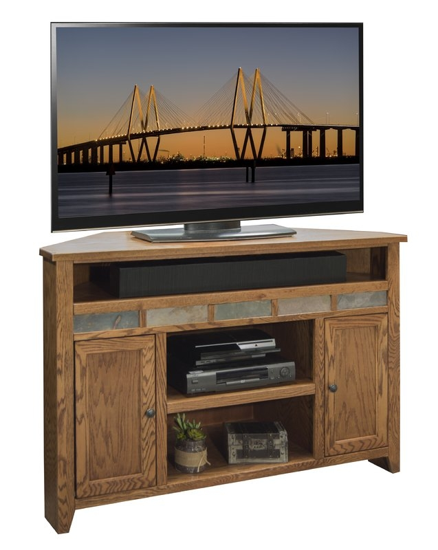 Magnificent Famous Oak TV Stands With Legends Furniture Oak Creek 56 Tv Stand Reviews Wayfair (Image 34 of 50)