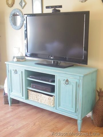 Magnificent Famous Painted TV Stands With Regard To Best 25 Tv Stand Makeover Ideas Only On Pinterest Dresser Tv (Image 32 of 50)