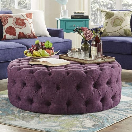 Magnificent Famous Purple Ottoman Coffee Tables Pertaining To 1142 Best Leather Ottomans And Cocktail Ottomans Images On (Image 24 of 40)