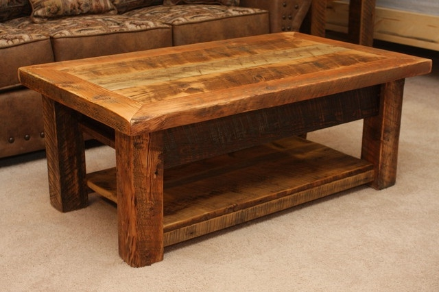 Magnificent Famous Rustic Coffee Table Drawers Throughout Living Room Top Best 25 Rustic Coffee Tables Ideas On Pinterest (Image 31 of 50)