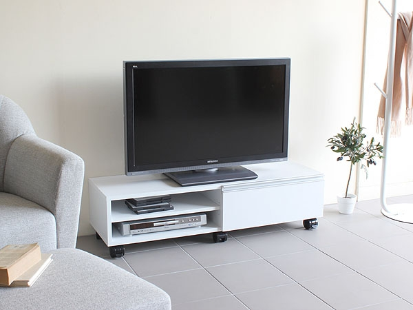 Magnificent Famous Small TV Stands On Wheels Within Arne Interior Rakuten Global Market Tv Units 120 Lowboard Make (Image 32 of 50)