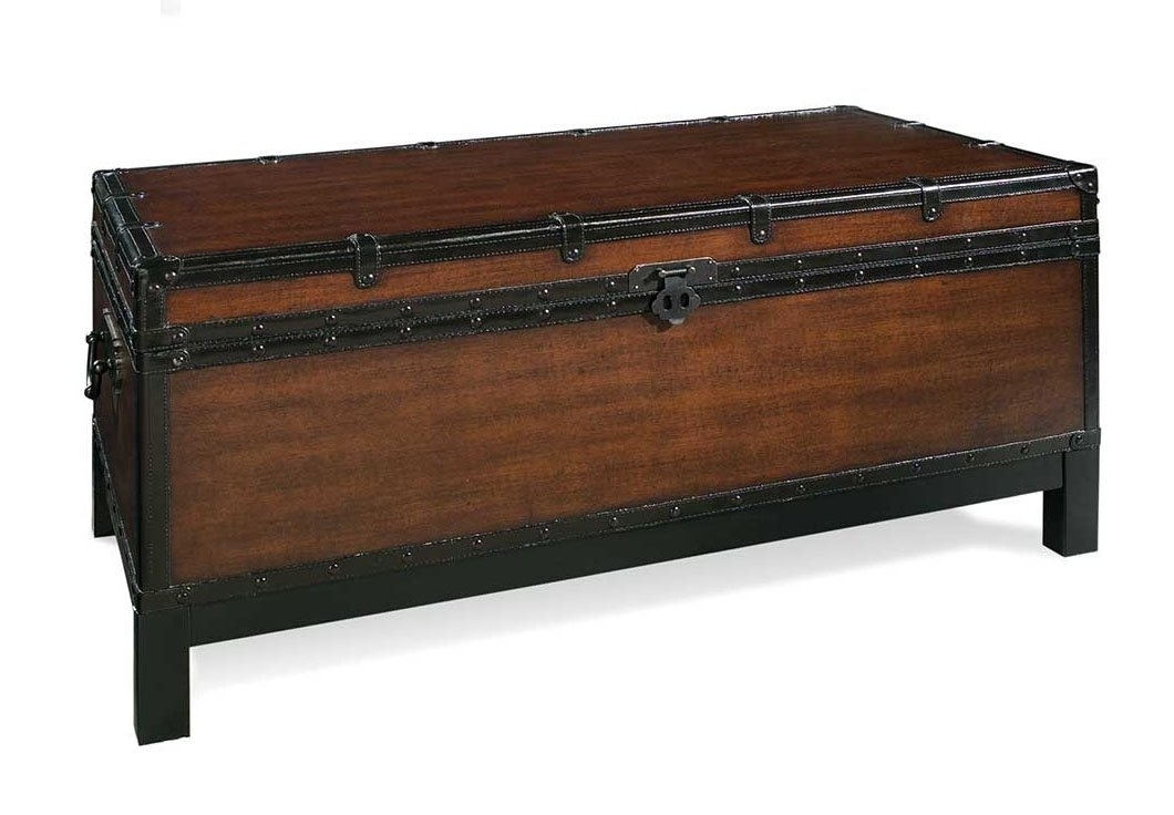 Magnificent Famous Trunk Coffee Tables  For Alcott Hill Glenway Trunk Coffee Table Trunk Reviews Wayfair (Image 35 of 50)