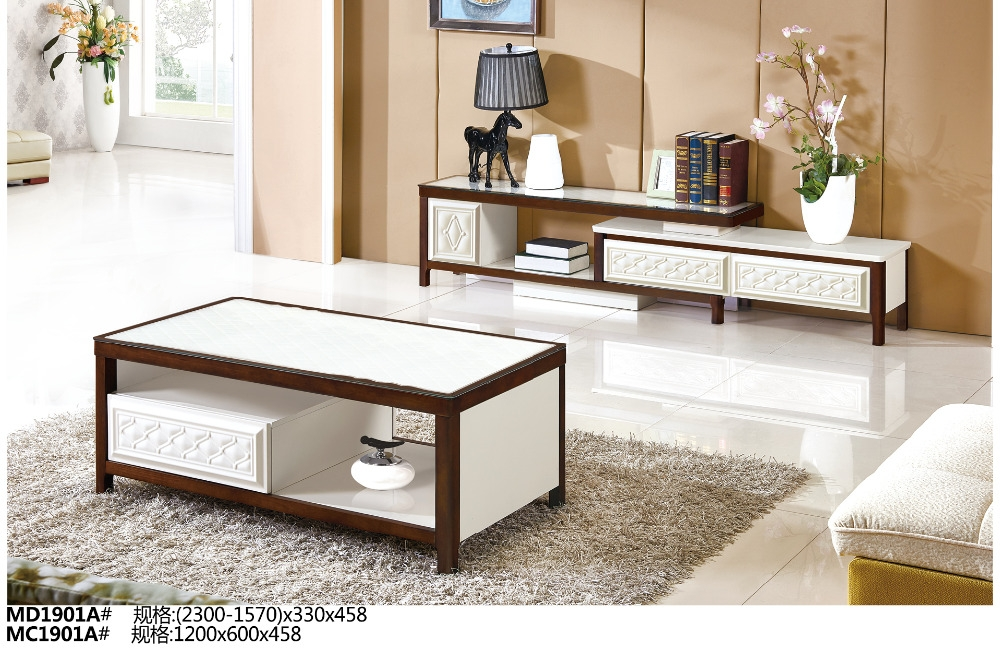 Magnificent Famous TV Stands Coffee Table Sets Pertaining To Md1901a Mc1901a Modern Living Room Furniture Set Tea Table Tv (Image 35 of 50)