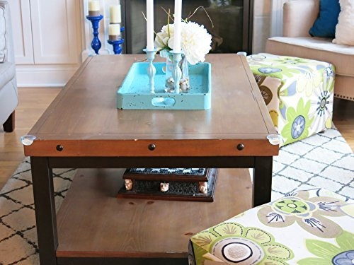 Magnificent Fashionable Baby Proof Coffee Tables Corners Intended For 10 Pack Premium Clear Corner Guards Bonus Electrical Outlet (Image 31 of 40)