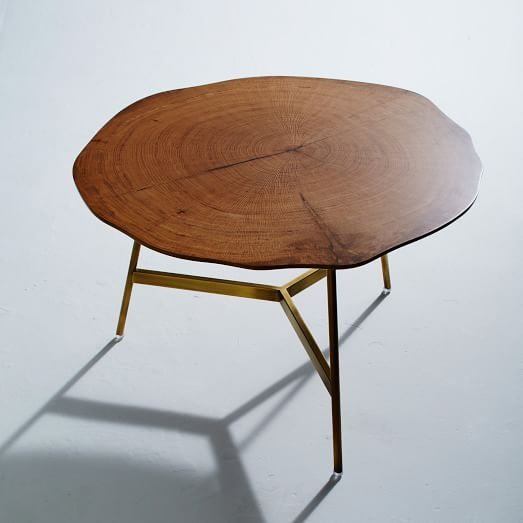 Magnificent Fashionable C Coffee Tables In End Grain Coffee Table West Elm (Image 40 of 50)