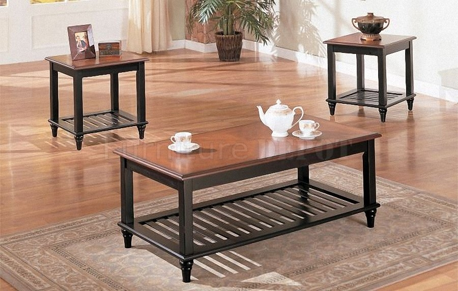 Magnificent Fashionable Cheap Wood Coffee Tables With Regard To Black Wood Coffee Table (Image 38 of 50)
