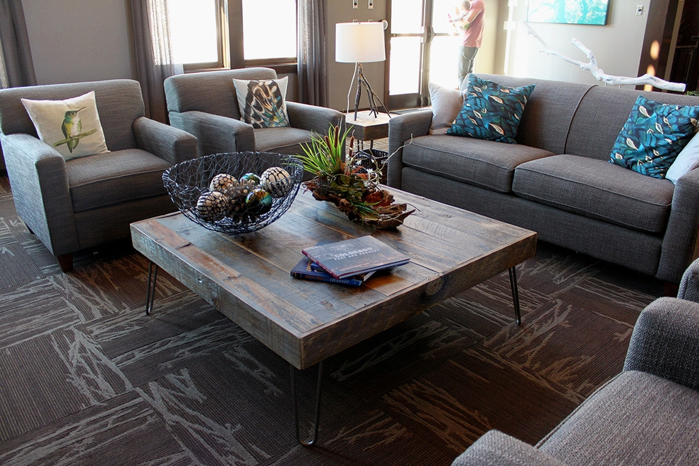 Magnificent Fashionable Grey Wood Coffee Tables Regarding Decorative Tiled Coffee Table (Image 38 of 50)