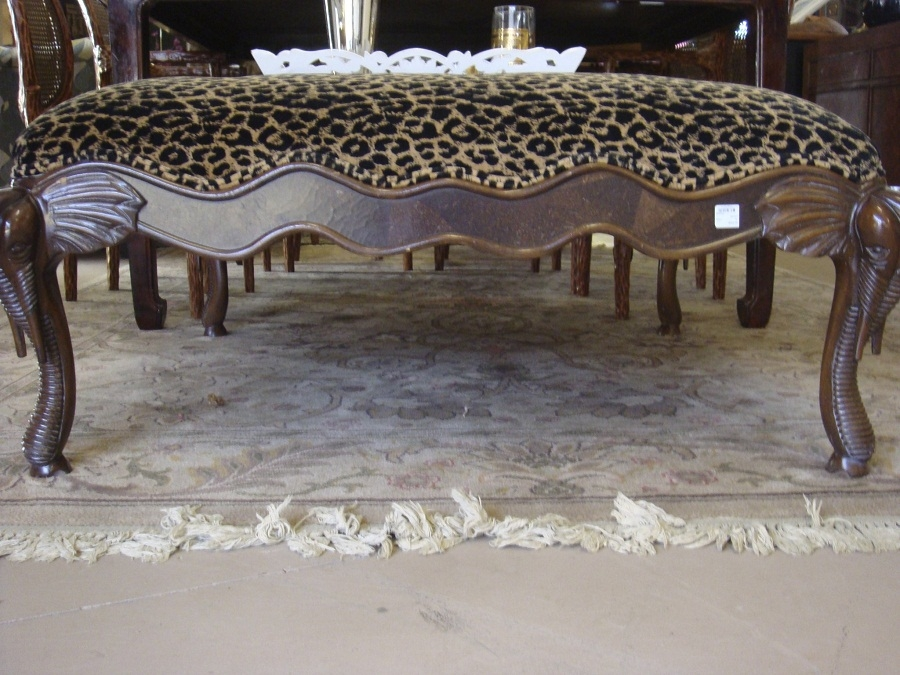 Magnificent Fashionable Leopard Ottoman Coffee Tables Regarding Leopard Ottoman Coffee Table Exotic Leopard Ottoman In Perfect (Image 27 of 40)
