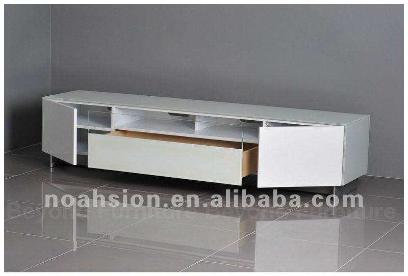 Magnificent Fashionable Long White TV Cabinets With Regard To White Tv Stand Buy Tv Standcheap Tv Standswhite Lacquer Tv (Image 34 of 50)