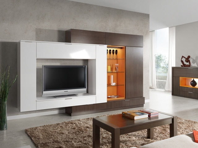 Magnificent Fashionable Modern TV Cabinets Regarding Tv Cabinet Modern Home Design Inspiration (Image 35 of 50)