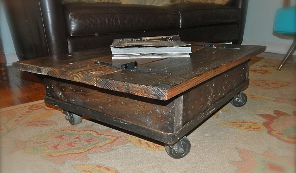 Magnificent Fashionable Rustic Coffee Table With Wheels Intended For Rustic Coffee Table With Wheels Locks Rustic Coffee Table With (Image 31 of 50)