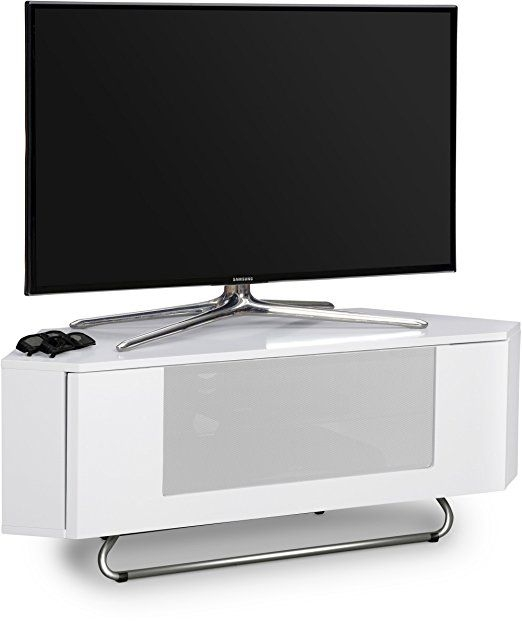 Magnificent Fashionable White Gloss Corner TV Stands Pertaining To 10 Best Tv Stand Images On Pinterest Home Stand In And Corner (View 46 of 50)