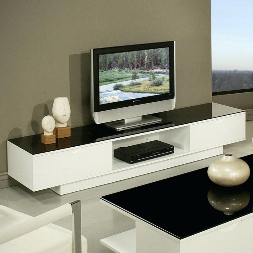 Magnificent Fashionable White High Gloss TV Stands Unit Cabinet With Regard To Modern Tv Stand Unit Cabinet Black And White High Glossblack Gloss (Image 33 of 50)