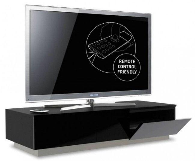 Magnificent Favorite Black TV Cabinets With Doors Intended For Best 25 Black Tv Cabinet Ideas On Pinterest My Photo Gallery A (Image 39 of 50)