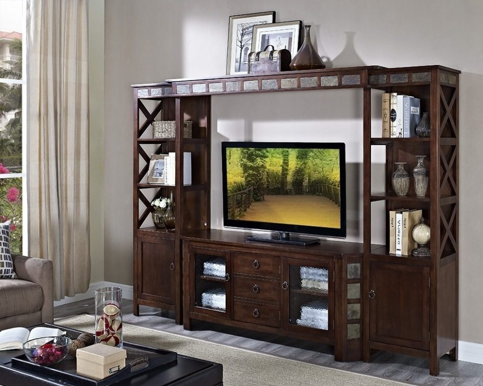 Magnificent Favorite Bookshelf TV Stands Combo With Regard To Furniture Home Desk And Tv Stand Combo Design Modern 2017 Tv (Image 34 of 50)