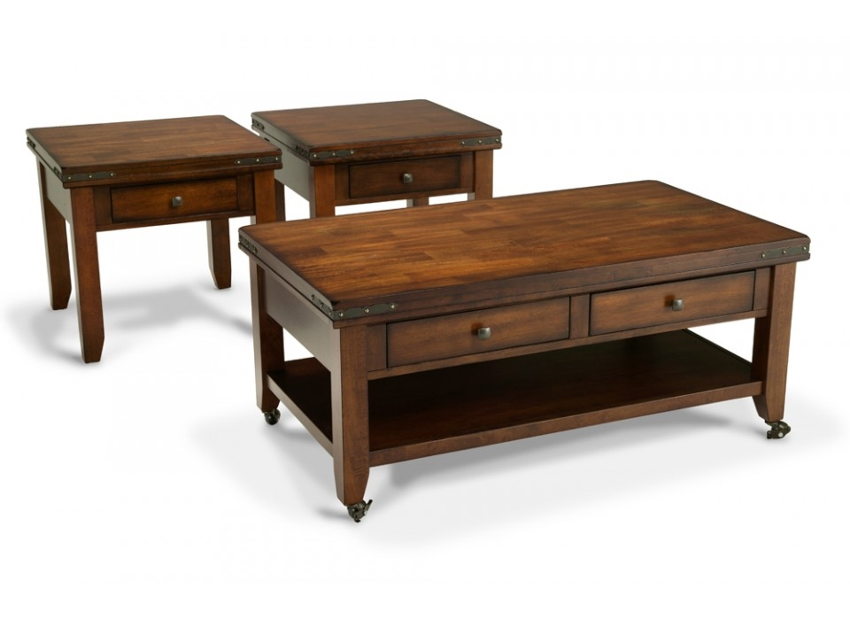 Magnificent Favorite Cherry Wood Coffee Table Sets In Cherry Wood End Tables Living Room Cherry End Tables Living Room (Image 37 of 50)