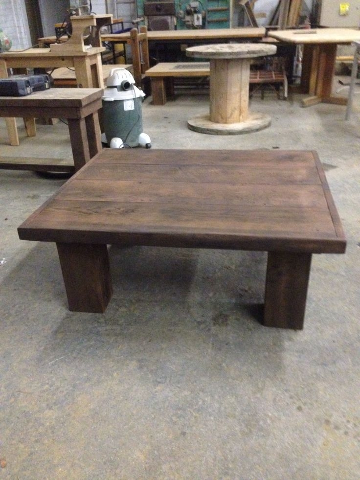 Magnificent Favorite Chunky Wood Coffee Tables Within 14 Best Reclaimed Wood Coffee Tables Images On Pinterest Wood (Image 32 of 50)
