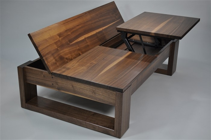 Magnificent Favorite Coffee Table With Raised Top Intended For Helpful Coffee Tables Raise (Image 35 of 50)