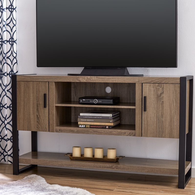 Magnificent Favorite Comet TV Stands In Mercury Row Theodulus 60 Tv Stand Reviews Wayfair (Image 35 of 50)