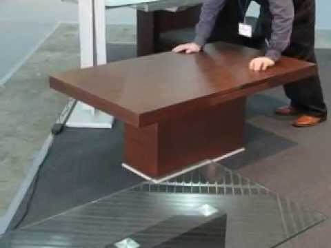 Magnificent Favorite Extendable Coffee Tables Intended For Sena Modern Extendable Coffee Tables Youtube (View 40 of 40)
