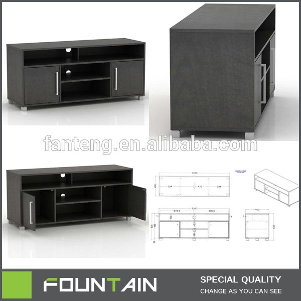Magnificent Favorite Fancy TV Cabinets Pertaining To Fancy Style Wooden Center Table Lcd Tv Cabinet Unit High Gloss Mdf (Image 37 of 50)
