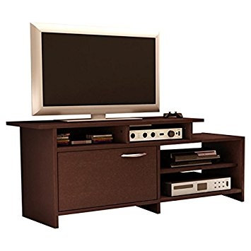 Magnificent Favorite Home Loft Concept TV Stands Regarding Amazon Home Loft Concept 42 Tv Stand Ii Chocolate Finish (Image 29 of 50)