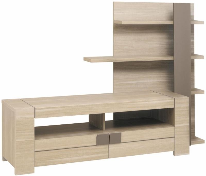 Magnificent Favorite Light Oak TV Cabinets Intended For Buy Gami Atlanta Light Oak Tv Unit Online Cfs Uk (Image 35 of 50)