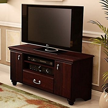 Magnificent Favorite Mahogany TV Stands In Amazon Traditional Mahogany Tv Stand Kitchen Dining (Image 41 of 50)