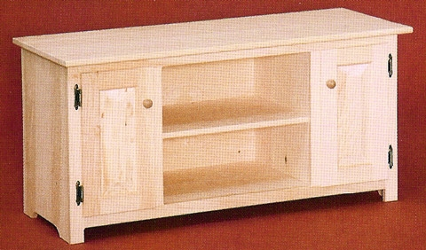 Magnificent Favorite Pine TV Cabinets Pertaining To Unfinished Pine Tv Stands Consoles (Image 31 of 50)