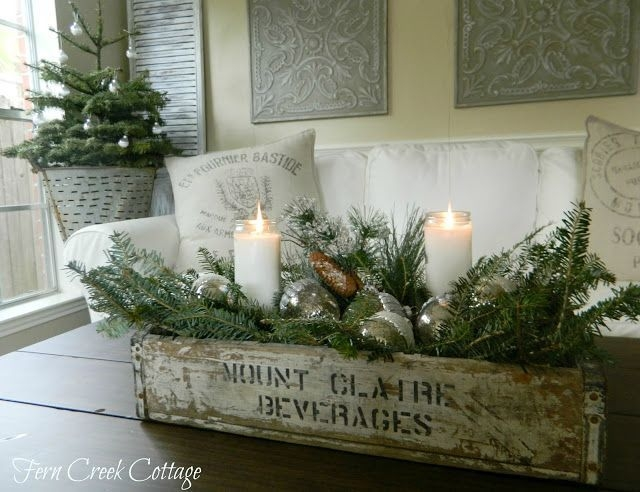 Magnificent Favorite Rustic Christmas Coffee Table Decors Regarding Best 25 Natural Christmas Ideas On Pinterest Natural Christmas (Image 35 of 50)