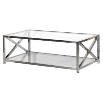 Magnificent Favorite Steel And Glass Coffee Tables Regarding Square Glass Coffee Table (Image 36 of 50)