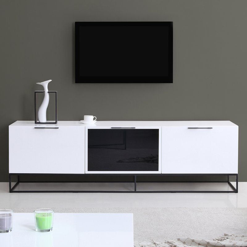Magnificent Favorite TV Stands For 70 Inch TVs Within Modern 70 Inch Tv Stands Entertainment Centers Allmodern (Image 36 of 50)