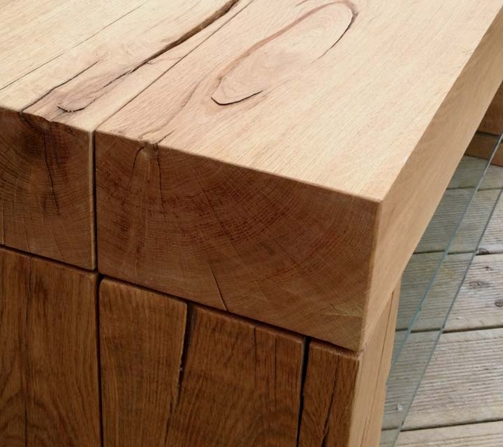 Magnificent High Quality Beam Through TV Stands Pertaining To Oak Tv Stands Custom Made In The Uk Abacus Tables (View 45 of 50)