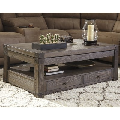 Magnificent High Quality Cheap Lift Top Coffee Tables Throughout Loon Peak Bryan Coffee Table With Lift Top Reviews Wayfair (Image 33 of 50)