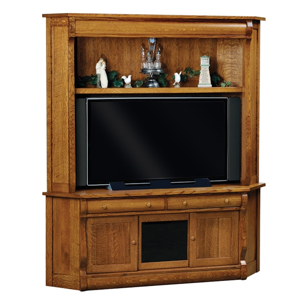 Featured Image of Dark Wood Corner TV Cabinets