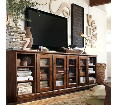 Magnificent High Quality Long Low TV Stands Throughout Top 25 Best Long Tv Stand Ideas On Pinterest Diy Entertainment (Image 33 of 50)