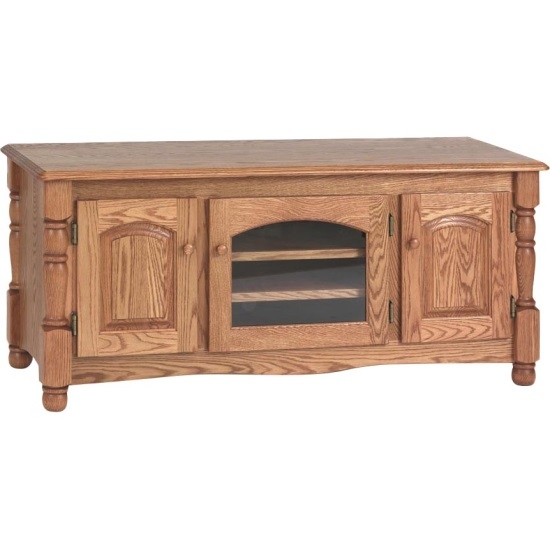 Magnificent High Quality Long Oak TV Stands Pertaining To Country Trend Solid Oak Tv Stand 51 The Oak Furniture Shop (Image 35 of 50)