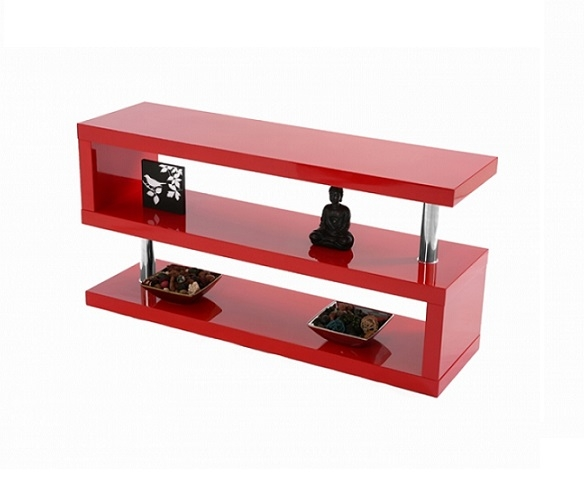 Magnificent High Quality Red TV Stands In Miami High Gloss Modern Red Tv Stand (Image 36 of 50)