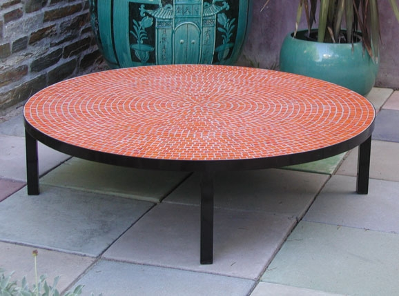 Magnificent High Quality Round Red Coffee Tables For Outdoor Round Coffee Table (View 11 of 50)