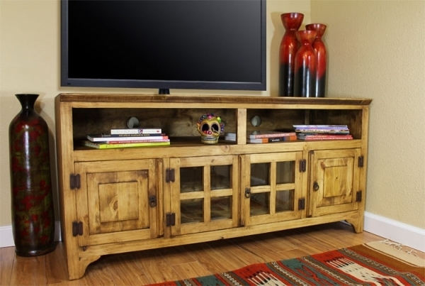 Magnificent High Quality Rustic Pine TV Cabinets For Mexican Pine Tv Cabinet Pertaining To Your House Modern Furnitures (Image 29 of 50)