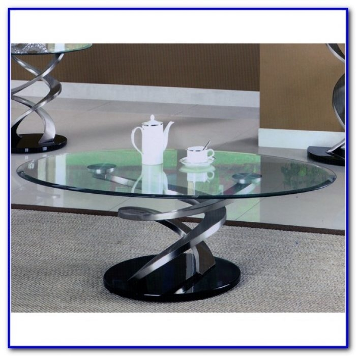 Magnificent High Quality Spiral Glass Coffee Table For Glass Coffee Table With Spiral Base Coffee Table Home (Image 38 of 50)