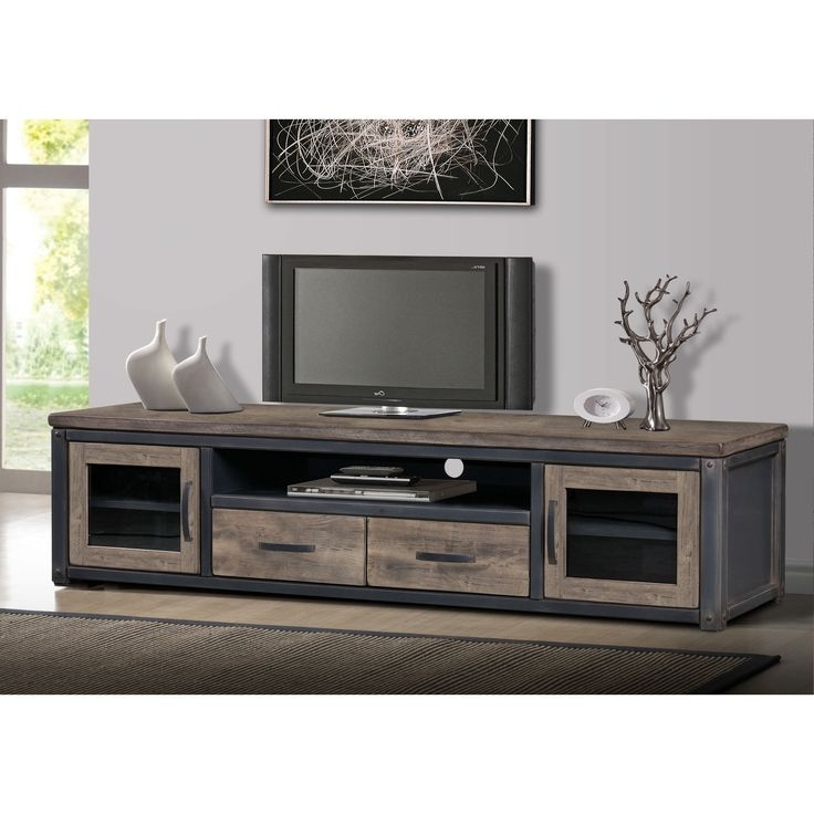 Magnificent High Quality White Rustic TV Stands Regarding 25 Best Rustic Tv Stand Images On Pinterest (Image 32 of 50)