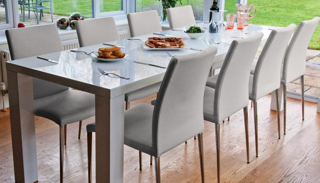 Magnificent Ideas Extendable Dining Table Seats 12 Inspiring Throughout Extending Dining Table With 10 Seats (Image 13 of 20)