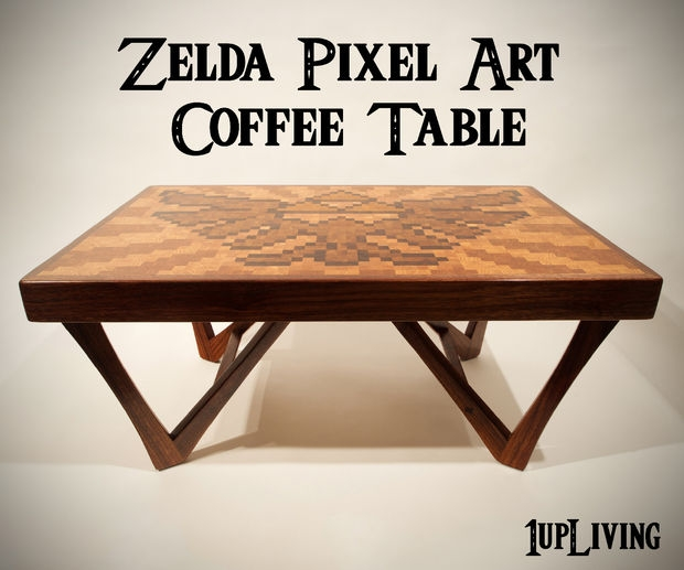 Magnificent Latest Art Coffee Tables With Regard To Zelda Pixel Art Coffee Table 10 Steps With Pictures (Image 41 of 50)