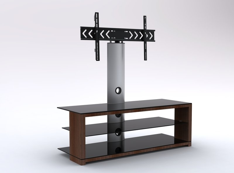 Magnificent Latest Cantilever TV Stands In Wooden Tv Stand Extraordinaire Black Glass Cantilever Tv Stand (Image 32 of 50)