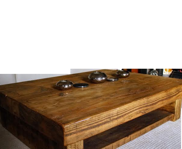 Magnificent Latest Chunky Wood Coffee Tables Intended For The Johnson Chunky Coffee Table Ely Rustic Furniture (Image 33 of 50)
