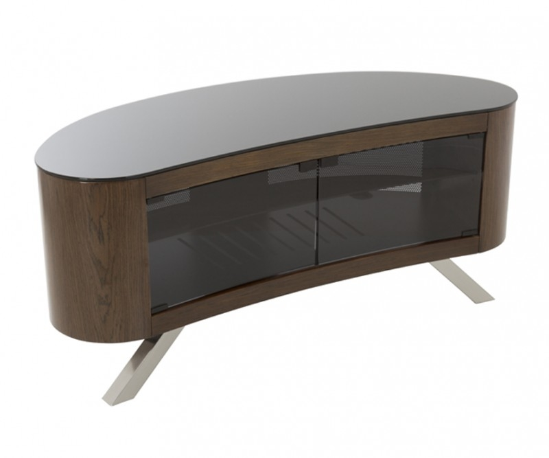 Magnificent Latest Curve TV Stands With Regard To Fs115bayxw Affinity Plus Bay Curved Tv Stand Tv Stands (View 4 of 50)
