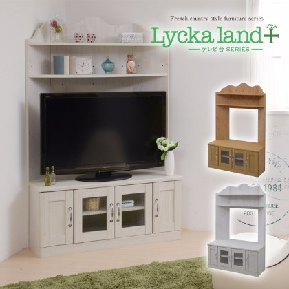 Magnificent Latest French Country TV Stands Regarding Lamp Tyche Rakuten Global Market Lycka Land Corner Tv Board (View 35 of 50)