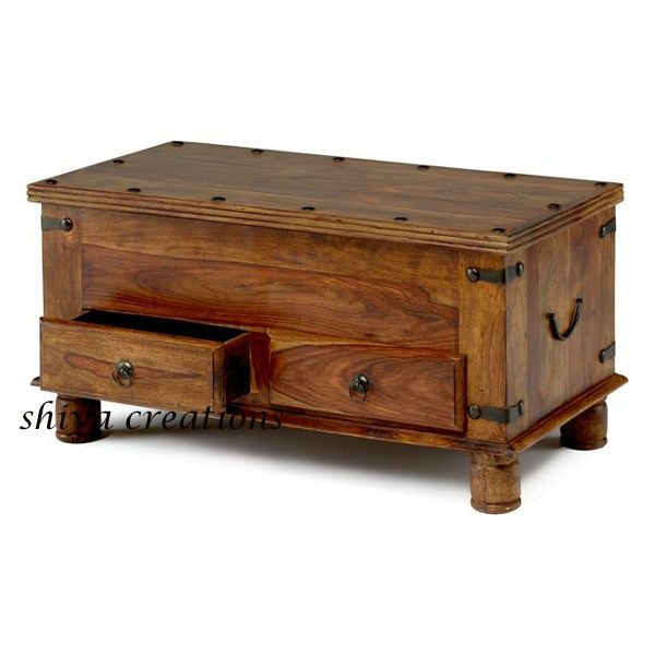 Magnificent Latest Indian Coffee Tables In Indian Wooden Coffee Table With Storage Drawers Buy Indian (Image 28 of 40)